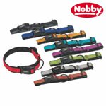 Nobby Halsband CLASSIC REFLECT SOFT - XS/XS-S/S-M/M-L/L-XL - Nylon Hundehalsband