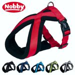 Nobby Geschirr CLASSIC COMFORT - Nylon-Fleece Hundegeschirr Komfortgeschirr