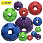 PetSport Turbo Kick Soccer Ball - Fußball Hundeball Apportierspiel Gummiball
