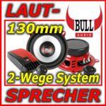 BULL AUDIO CS-525.75 - 2-Wege Compo-System - Lautsprecher - mit Weiche - 130mm