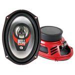 """BULL AUDIO TRI-6090 - 3-Wege Triax-Lautsprecher Paar - 6x9"""" - 140 Watt"""