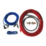 BULL AUDIO Kabelset - Anschluss-Set - Kabel für Endstufe/Verstärker - 10mm²