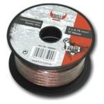 BULL AUDIO Lautsprecherkabel 2x 0,75 mm² - 10 m Lautsprecher Kabel Litze