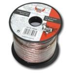 BULL AUDIO Lautsprecherkabel 2x 1,5 mm² - 10 m Lautsprecher Kabel Litze