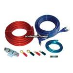 BULL AUDIO Kabelset - Anschluss-Set - Kabel für Endstufe/Verstärker - 20mm²