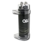 AIV Kondensator - Power Cap - 1 Farad - 1000000 µF - schwarz - LED Anzeige