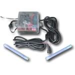 Flashlight weiß - Strobo Strobe Pace Car PaceCar Blitzer Blitzröhre - 2 er Set