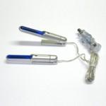 LED Innenraum-Leuchten - blau - Leuchte Lampe  Spot Leuchtstab 2er Set - 2 LED
