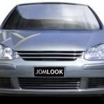 Sportgrill - VW Golf 5 - Clean Look - Frontgrill Grill - schwarz