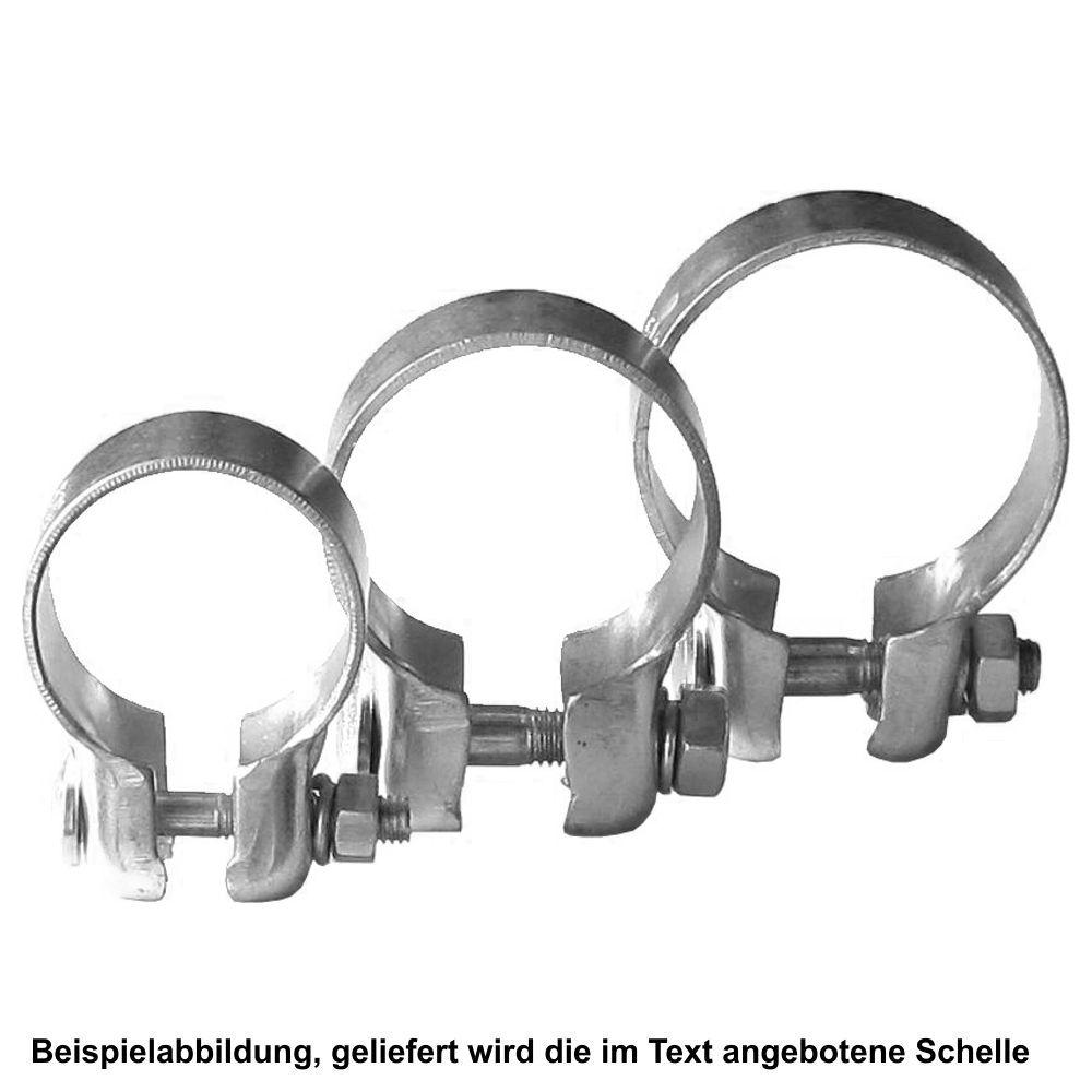 """Auspuffschelle 57mm 2,25/"""" Schelle Auspuff Rohrschelle  Audi für BMW Seat Opel Fi"""