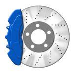 JOM Bremssattellack blau - Bremssattel Lackier-Set Bremsscheibe Bremstrommel