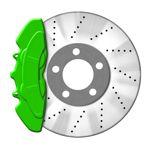 JOM Bremssattellack grün - Bremssattel Lackier-Set Bremsscheibe Bremstrommel