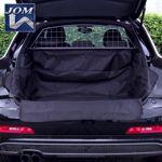 JOM Kofferraum Schutzdecke mit Ladekantenschutz - Kfz Hundedecke Kofferraumwanne
