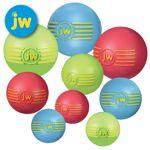 JW Isqueak Ball - S/M/L - Apportierspielzeug Hundespielzeug mit Quietschie