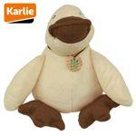 Karlie Plüsch-Hundespielzeug Ente Ferdinand 36 cm Plüschspielzeug Hund Squeaker