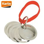 Karlie Training Discs - Wurfscheiben für Hunde Erziehung/Ausbildung Wurfkette