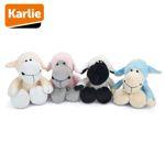 Karlie Plüsch-Hundespielzeug Schäfchen Schaf Spielzeug mit Squeaker Kuscheltier