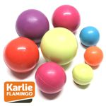 Karlie Flamingo BALL - Gummi Hundespiel Apportierspiel Wurfspiel Gummiball