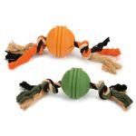 Beeztees Sumo Fit Ball - mit Seil - Ø 8 cm - 32 cm lang