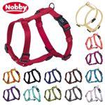 Nobby Geschirr CLASSIC XXS/XS-S/S-M/M-L/L-XL alle Farben - Nylon Hundegeschirr