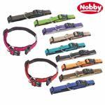 Nobby Halsband SOFT GRIP XS/XS-S/S-M/M-L/L-XL alle Farben - Nylon Hundehalsband