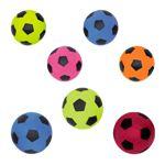 Nobby Moosgummi Fußball - Hundespiel Wurfspiel Ball Spielzeug Gummiball 2 Größen