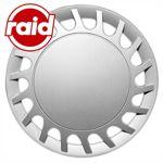 raid Radzierblenden 15 Zoll - Typ 204 - brilliant silber metallic - 4 Radblenden
