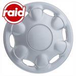 raid Radzierblenden 13 Zoll - Typ 404 - brilliant silber metallic - 4 Radblenden