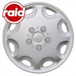 raid Radzierblenden 15 Zoll - Typ 212 - brilliant silber metallic - 4 Radblenden