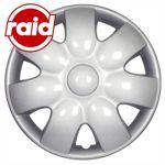 raid Radzierblenden 15 Zoll - Typ 228 - brilliant silber metallic - 4 Radblenden