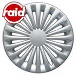raid Radzierblenden 15 Zoll - Typ 224 - brilliant silber metallic - 4 Radblenden
