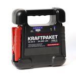 Dino KRAFTPAKET 12 + 24 V Starthilfe 24000 mAH 1000 A Powerbank Ladegerät