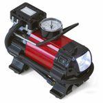 Dino KRAFTPAKET 2in1 Mini Druckluftkompressor 12V LED-Lampe Druckluft Kompressor
