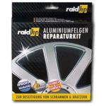 raid hp Alufelgen Reparatur Set silber - Felgendoktor Kit Felgen Reiniger