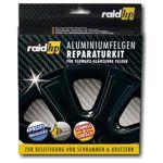 raid hp Alufelgen Reparatur Set schwarz glanz - Felgendoktor Kit Felgen Reiniger