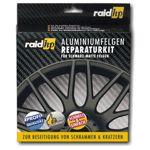 raid hp Alufelgen Reparatur Set schwarz matt - Felgendoktor Kit Felgen Reiniger