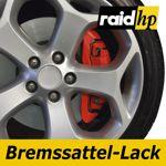 raid hp Bremssattellack rot - 6-teiliges-Set Bremsscheibe Bremstrommel Lack