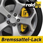 raid hp Bremssattellack gelb - 6-teiliges-Set Bremsscheibe Bremstrommel Lack