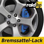 raid hp Bremssattellack blau - 6-teiliges-Set Bremsscheibe Bremstrommel Lack