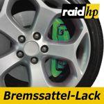 raid hp Bremssattellack grün - 6-teiliges-Set Bremsscheibe Bremstrommel Lack