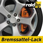 raid hp Bremssattellack orange - 6-teiliges-Set Bremsscheibe Bremstrommel Lack