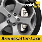 raid hp Bremssattellack weiß - 6-teiliges-Set Bremsscheibe Bremstrommel Lack