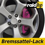 raid hp Bremssattellack pink - 6-teiliges-Set Bremsscheibe Bremstrommel Lack