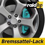 raid hp Bremssattellack türkis - 6-teiliges-Set Bremsscheibe Bremstrommel Lack