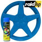 raid hp Sprühfolie blau seidenglanz 500 ml - Felgenfolie Autofolie Lack glänzend