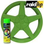 raid hp Sprühfolie grün seidenglanz 500 ml - Felgenfolie Autofolie Lack glänzend