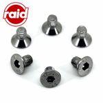 Schrauben-Set Edelstahl für RAID/RAID HP/DINO Lenkrad+Nabe - Lenkradschrauben M6