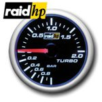 raid hp NIGHT FLIGHT BLUE - Turbodruck/Turbo/Ladedruck-Anzeige - Instrument