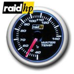 raid hp NIGHT FLIGHT BLUE - Kühlwasser/Wassertemperatur-Anzeige - Instrument