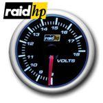 raid hp NIGHT FLIGHT BLUE - Voltmeter/Spannung/Volt-Anzeige - Instrument